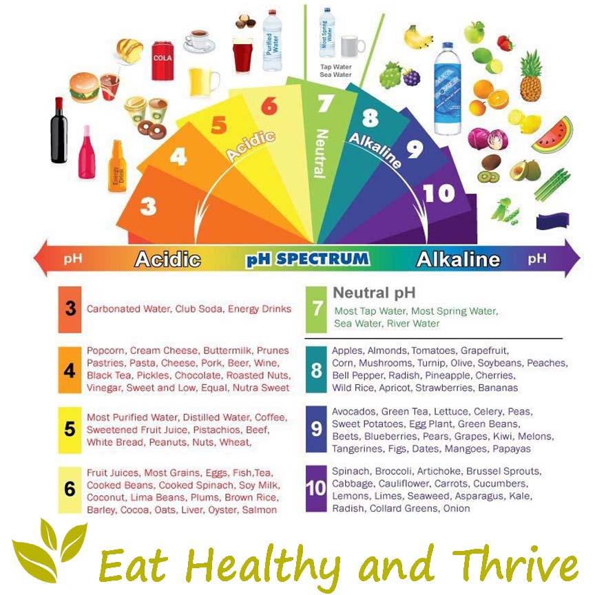 Alkaline Diet Food List For Weight Loss